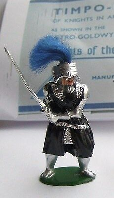 VINTAGE 1950s TIMPO LEAD  SIR MORDRED ON FOOT.KNIGHTS OF THE ROUND TABLE SERIES.