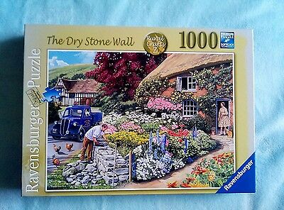 Ravensburger 1000 piece jigsaw puzzle - The Dry Stone Wall - Rural crafts 2