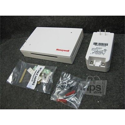 Honeywell 5800C2W Hardwired to 5800 Wireless Converter for 12V Security System