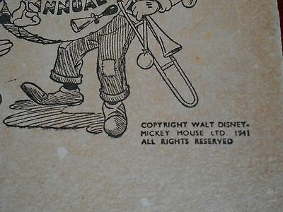 Collectors Walt Disney - Mickey Mouse Annual 1941 - Low Start Price No Reserve