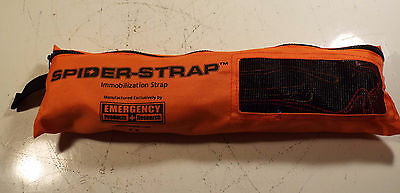 1 Used Emergency Products And Research Spider-Strap Ep-506 Immobilization Strap