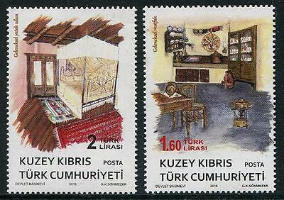 Northern Cyprus 2016 Ethnographic Objects CY104 MNH**