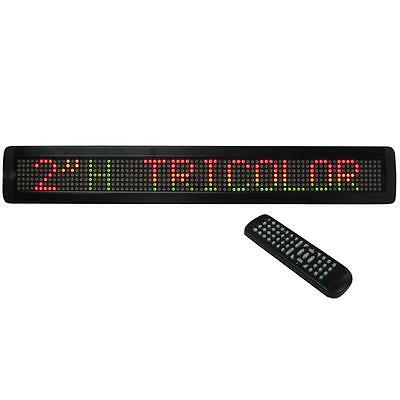 Led Laufschrift Ibiza Moving-Mes15R Rgy Licht Effekt Band Display Text Reklame