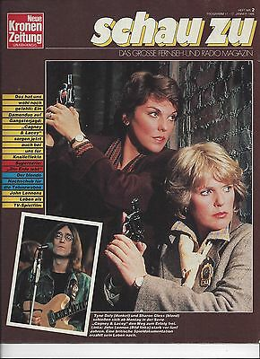 Schau Zu 1986: Tyne Dale & Sharon Gless ( Cagney & Lacey Cover ) John Lennon,