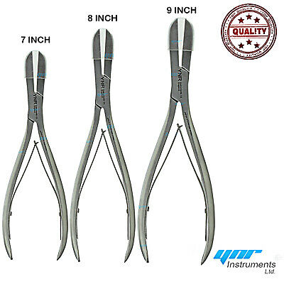 "YNR Liston Bone Cutter Forceps Orthopedic instrument Stainless Steel 7"", 9"""