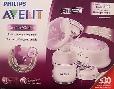 Philips Avent Comfort Breast Pump Single Electric - Scf332/11