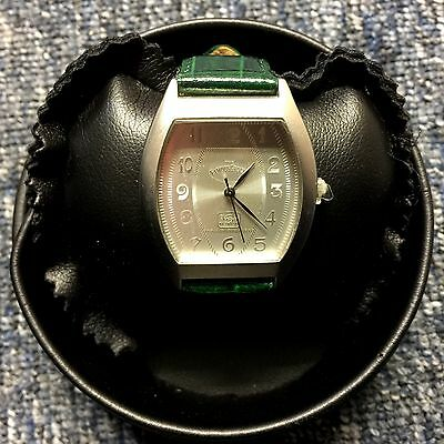 Famous Grouse Whisky - Vintage Watch In Leather Presentaion Case - Rare