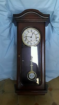 MAPPING & WEBB key wound Westminster chime wall clock