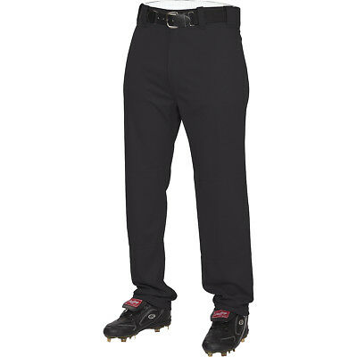 Rawlings Men's Semi-Relaxed Double-Knit Baseball Pants