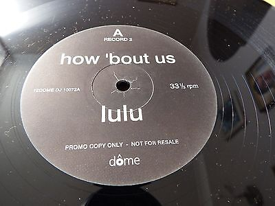 """Lulu-how bout us.12"""" EP, PROMO"""