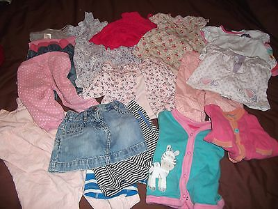 Bundle of clothes 6-9 Months girls