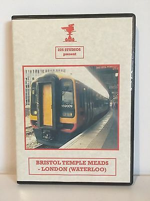 Bristol Temple Meads to London Waterloo | Cab Ride | 225 Studios | Railway DVD