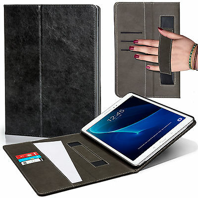 Leather Strap Smart Case Cover Samsung Galaxy Tab A 10.1 with S Pen SM-P580