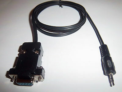 New Rs232 Db9 Female 2.5Mm Male Jack Adapter Serial Cable