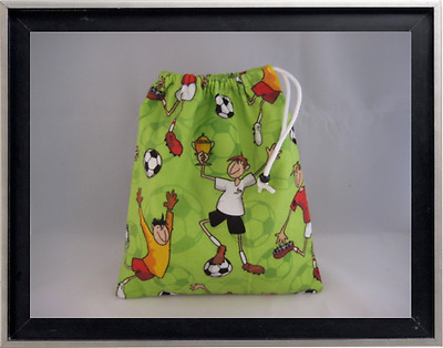 Gymnastics Leotard Grip Bags / Soccer Boys Gymnasts Birthday Goody Bag