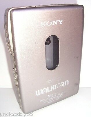 SONY WALKMAN WM-EX606 Vintage Stereo Cassette Player Japan tested #4