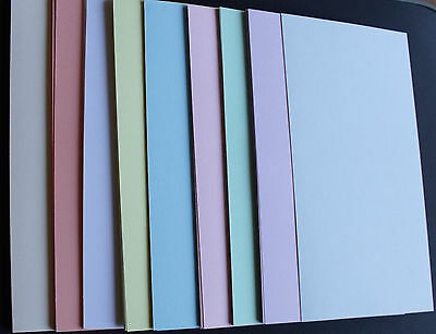 A4 Card  - Pack Of 40 Sheets Assorted Pastel Colours
