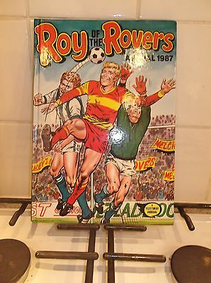roy of the rovers annual 1987