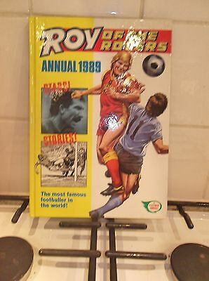 roy of the rovers annual 1989