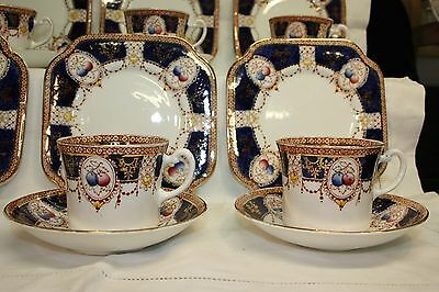Beautiful Royal Vale Tea Set 21 Pieces Imari Colours 3460 1928-37