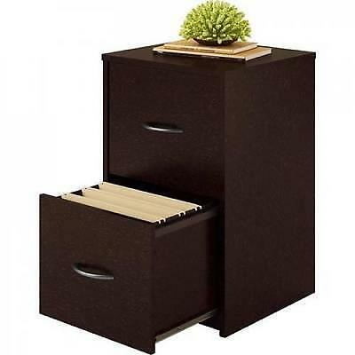 Ameriwood 2 Drawer Cabinet File Office Wood Storage Home Furniture Cherry NEW HQ