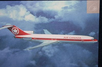 AK Airliner Postcard  AIR CANADA B.727 airline issue
