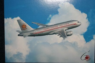 AK Airliner Postcard  AIR CANADA  A319 airline issue