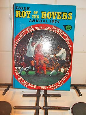 roy of the rovers annual 1974 with date