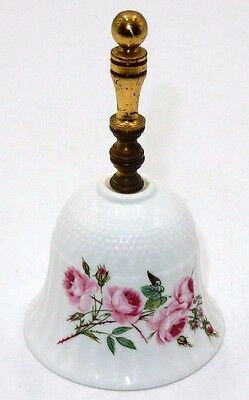 "Vintage Phoenix Products 5.25"" Fine Bone China Brass Bell Stoke-On-Trent England"