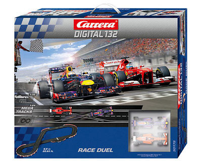 Carrera 30175 - DIGITAL 132 Race Duel Racetrack Complete Set NIP