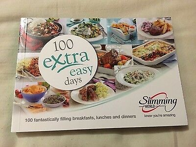 Slimming World Book - 100 Extra Easy Days - Brand New
