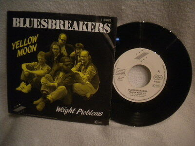 """7"""" Bluesbreakers -- Yellow Moon / Weight Problems"""