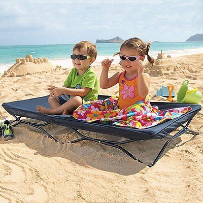 Portable TODDLER BED COT Sleep over, Camping, Games, Beach, Outdoors, Daycare