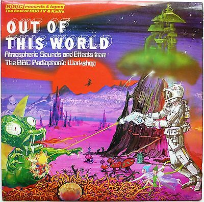 Radiophonic Workshop Out Of This World Dr Who Original 1976 Release