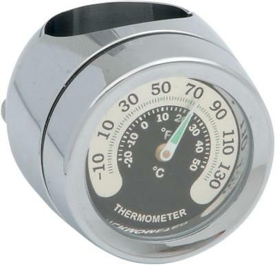 """DS Handlebar Mount Thermometer for 7/8"""" or 1"""" Bars"""