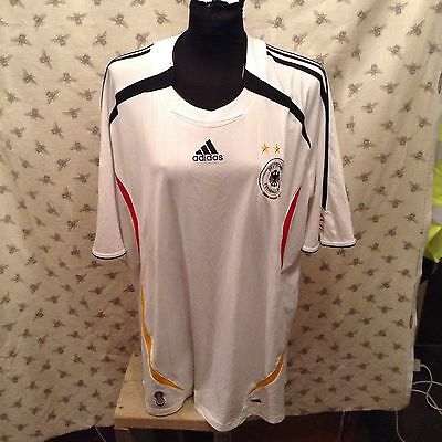 Germany National home shirt. Adults size 2XL