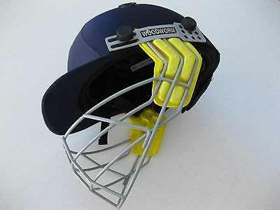 Woodworm Boys Cricket Helmet & Grill. Size Small (54-56cm) Approx USED