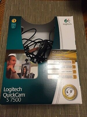 Logitech QuickCam S7500 Webcam - 1.3 Megapixel USB 2.0 1280 x 960 Video...