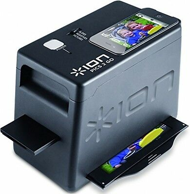 ION IPics 2 Go Photo, Slide And Negative Scanner For IPhone 4 And 4S