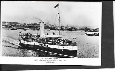 Postcard - Paddle Steamer Medway Queen