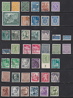 Germany Deutshes Post and Zone Stamps Mint and Used (Ger05022)