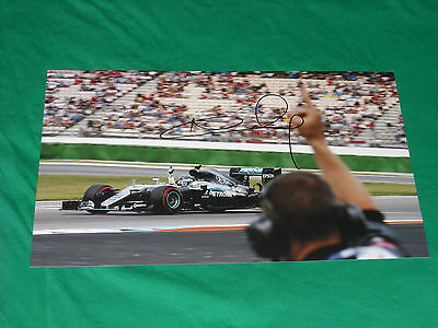 Nico Rosberg Signed 2016 Mercedes Gp F1 Pic 20X30 Pole Position World Champion
