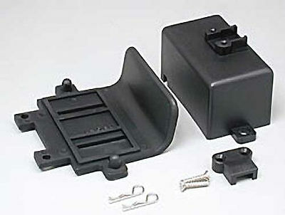 NEW Traxxas Bumper/Battery Box/Clips Stampede 4132
