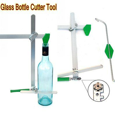 Pro Green Glass Bottle Cutters Beer Jar Wine Cutting DIY Kit Stained Recycle Art