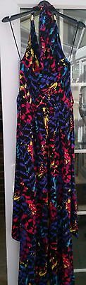 Ladies Halter Neck Dress by New Look - Size 10