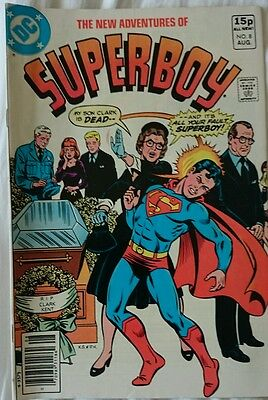 The New Adventures Of Superboy # 8