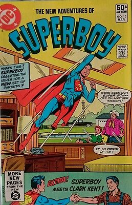 The New Adventures Of Superboy # 15