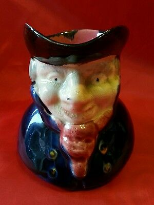VINTAGE ANTIQUE TOBY JUG No2 BY Shorter and son Ltd Stoke on Trent STAFFORDSHIRE