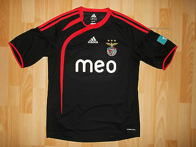 Adidas BENFICA 2009-10 away football shirt size S SMALL Portugal