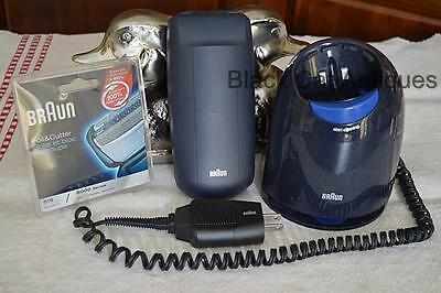 Braun Series 5 8985 Rechargeable Shaver w/Charger & Replacement Foil/Cutter 51S